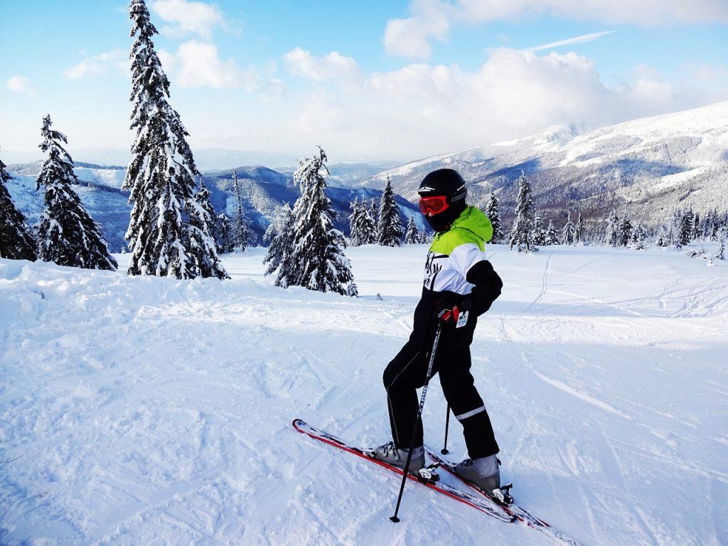narciarz na słowacji